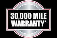30,000 Mile Warranty
